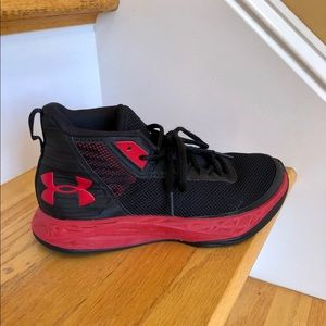 Boys Under Armour high top sneakers